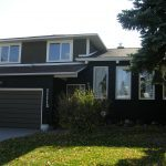 Exterior Brick Painting Calgary and Door and window Clad