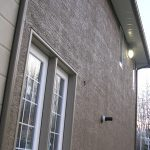 Stucco Wall Repainted in Alberta